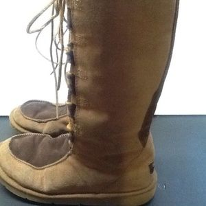 Ugg Whitley Boots Women's 8 Brown Chestnut Tall